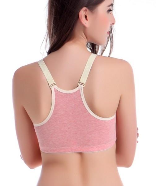 Натуральный бюстгальтер для беременных и кормящих женщин со спинкой борцовкой (в наличии бежевый 75 С) - 4