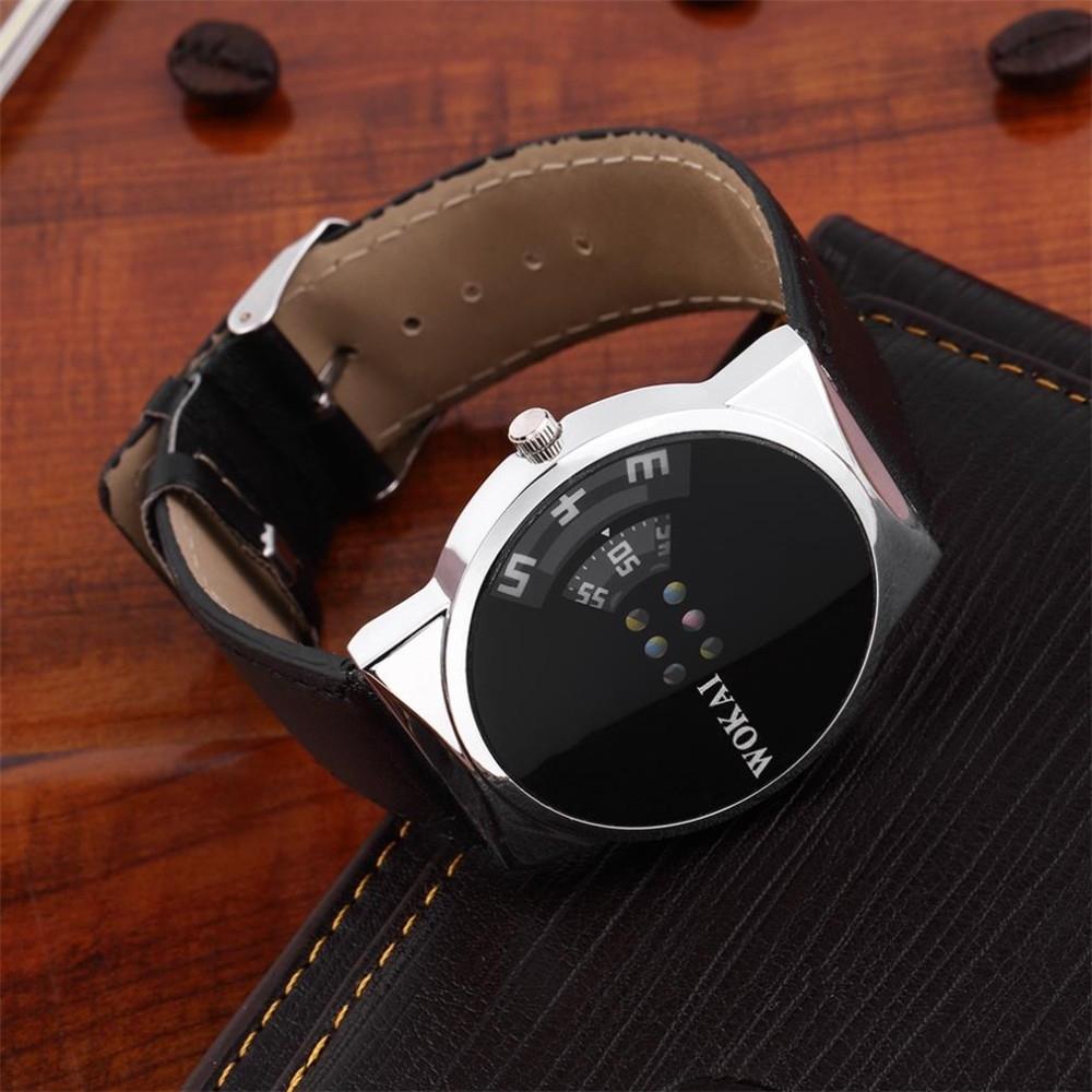 Оригинальные наручные мужские часы WoMaGe (в наличии черные) - 1
