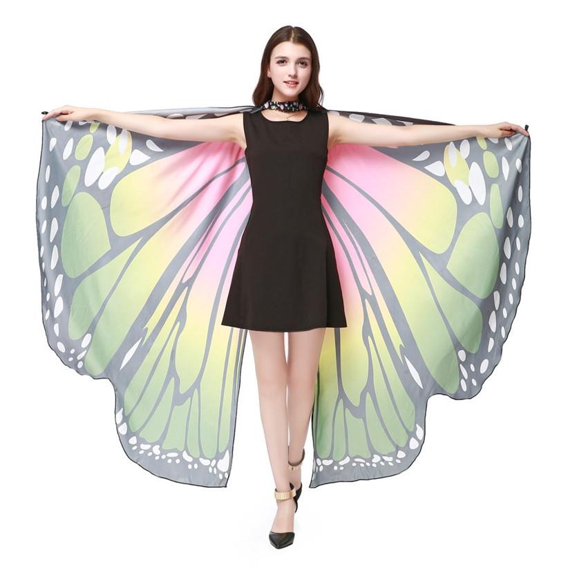 """Крылья большие для восточных танцев """"Бабочка"""" - 5"""