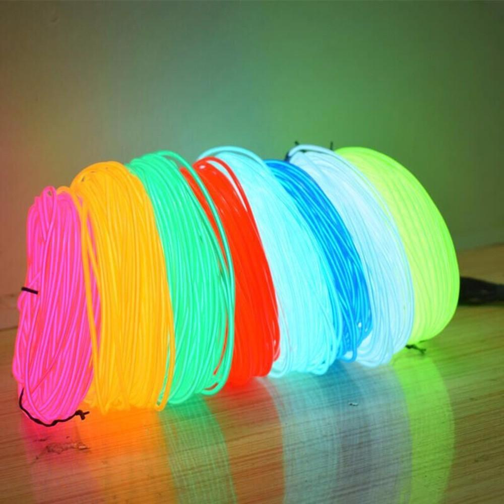 Неоновый светящийся шнур для танцев - 1