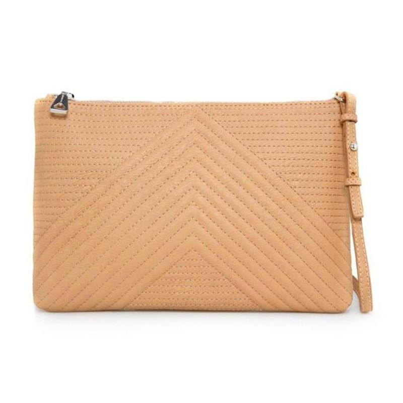 Простроченная полосами сумка-кроссбоди - 2