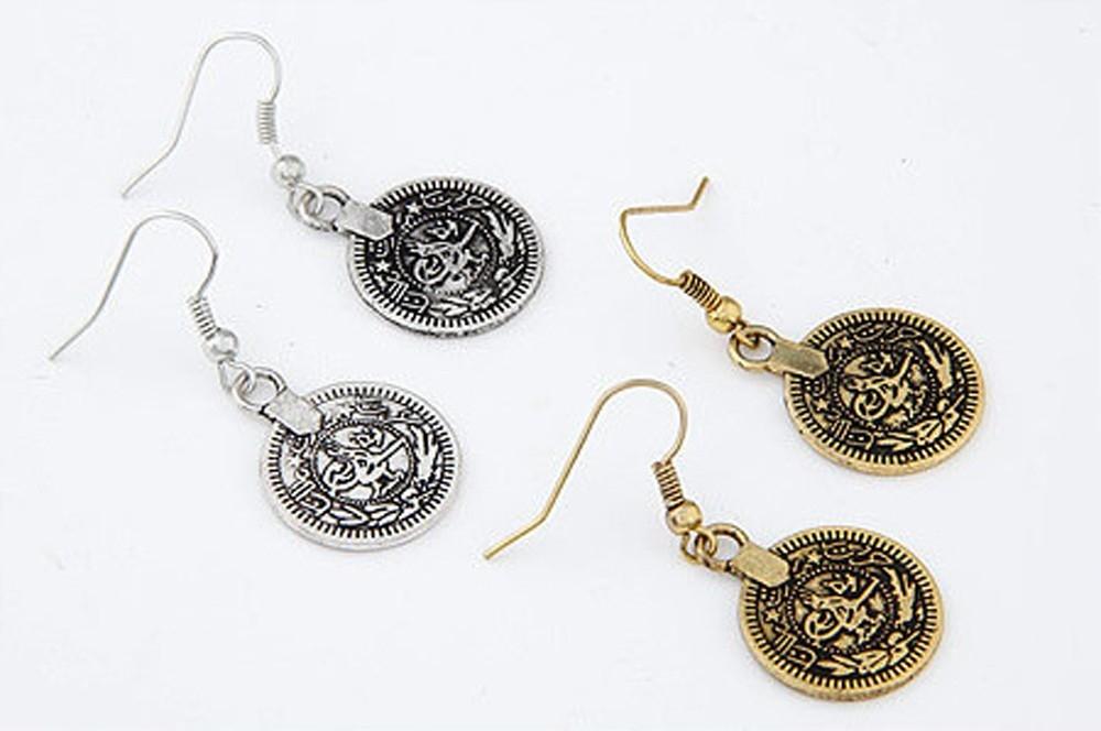 Набор украшений в восточном стиле с монетками (в наличии золото и серебро) - 5