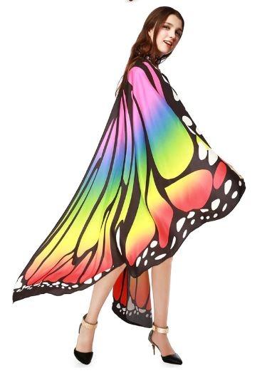 """Крылья большие для восточных танцев """"Бабочка"""" - 1"""