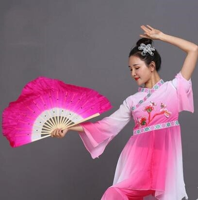 Короткие веера-вейлы тренировочные для восточных танцев (1 пара= 2 штуки) - 4