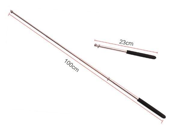 Пара телескопических стальных палочек для крыльев  - 1
