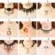 """Кружевной чокер-ожерелье """"Готика""""  ( в наличии черные и беж фото 1, а также четыре модели черного и белого цвета (последних пять фото)) - 2"""