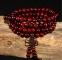 Браслет-четки из дерева венге с эффектом омбре - 6