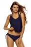 Спортивный купальник-тройка: набор бикини + майка - 4