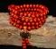 Браслет-четки из дерева венге с эффектом омбре - 3