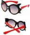 """Модные солнцезащитные двухцветные детские очки от солнца """"Котик"""" с градиентным переходом - 2"""