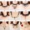"""Кружевной чокер-ожерелье """"Готика""""  ( в наличии черные и беж фото 1, а также четыре модели черного и белого цвета (последних пять фото)) - 1"""